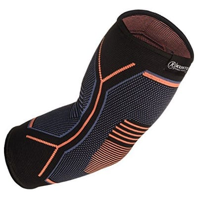 Kunto Fitness Elbow Brace Compression Support Sleeve
