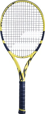 Babolat 2017-2018 Pure Aero – STRUNG with COVER